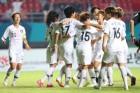 '12골 골잔치' 한국 여자축구, 인도네시아 꺾고 3연승으로 8강행