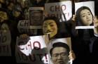 """""""총수 일가 퇴진""""…대한항공·아시아나 직원들 다시 촛불집회"""