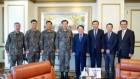 심승섭 해군참모총장 일행 한국선급 본사 방문