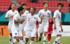한국 여자축구, 약체 몰디브에 8-0 대승...8강행 확정