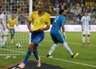 '미란다 극적 결승골' 브라질, 아르헨티나에 1-0 승리