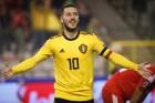 '아자르 2골' 벨기에, 러시아 3-1 제압하고 유로 예선 첫 승