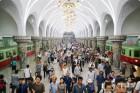 남한은 은행 피서, 북한은 '지하철 피서'
