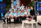 태국 '동굴 소년들', '우상' 즐라탄 만났다