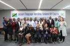 탄자니아 공항청 직원들, 인천국제공항서 수하물처리운영 노하우 전수