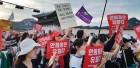 """""""못살겠다. 여성에게 국가는 없나"""" 안희정 무죄 판결 규탄 집회에 5000명 몰려"""
