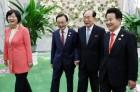 정당 대표단, 김영남 만나...연내 남북의회회담 등 제안
