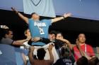 아르헨티나 극장골 순간, 마라도나 응급처치 받았다