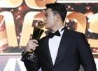 """'잠실 홈런왕' 김재환, 2018 MVP 수상 """"그날 후회한다"""""""