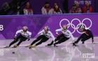 남자 쇼트트랙, 1500m 금은동 싹쓸이... 최민정도 금