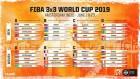 FIBA 3x3 월드컵 2019 조 편성 발표..한국에겐 최악의 조 편성