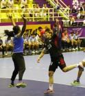 '유소정 12득점' 여자 핸드볼, 인도에 45대18 완승으로 '2연승'