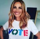 줄리아 로버츠, 여전한 귀여운 연인…투표 인증샷