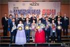 '제22회 전북교육대상' 금산초 김혜영 교장 대상