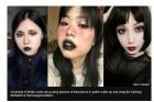 中 지하철에서 짙은 화장 여성 탑승 제지…'고스족' 집단 반발