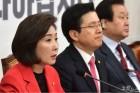 '김학의' 발목잡힌 황교안…기세등등한 나경원