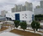 대구 다목적체육센터 완성…분수광장 등 휴게 공간도 마련