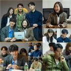 """'어비스' 박보영X안효섭, 첫 대본리딩 """"다시 태어난 반전 비주얼"""""""
