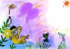 '움직이는 꽃밭','꽃밭'을 탈출한 말벌 위험한 세상나들이