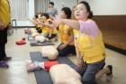 경북적십자 안동시지구협의회 심폐소생술 교육 참가