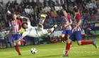 전력 수비하는 레알 마드리드의 마르셀로