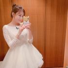 """에이핑크 오하영, 순백의 드레스로 미모 폭발..""""새 신부 같아"""""""