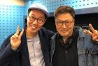 """김영철, 성우 정형석과 '철파엠' 인증샷..""""그들만의 패션 리그"""""""
