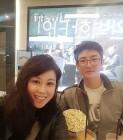 홍지민, '대학생 같은' 남편과 데이트..'살빠진 부부'