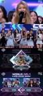 '엠카' 여자친구, '해야'로 1위·3관왕...세븐틴 컴백·체리블렛 데뷔