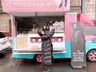 """""""미녀들의 우정♥""""..박신혜, 한효주가 선물한 커피차에 감동"""
