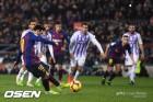 '메시 PK 골 + 실축' 바르샤, 바야돌리드에 1-0 승