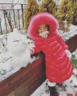 """""""눈사람과 찰칵""""…소이현 딸 하은, 랜선 이모 흐뭇하게 하는 미소"""