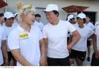 단일팀, 女 카누 드래곤보트 200m 동메달 쾌거