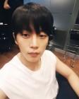 """""""광대들 안녕""""…김민석, 크랭크업과 함께 헤어스타일 변신"""
