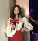 """'하현우의 그녀' 허영지, 극강의 청순 미모 """"사랑합니다"""""""