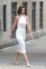 '수리 엄마' 케이트 홈즈, 밀착드레스로 뽐낸 완벽 몸매