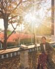 '송재희♥'지소연, 가을 햇살 담은 따스한 미소 눈길