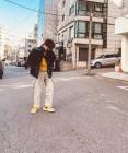 JBJ95 켄타, 노란색으로 패션 포인트 '센스쟁이'