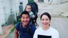 강형욱, 아들 주운이와 아내...가족사진...반려견은요?