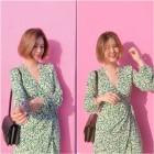 """""""핑크 러블리""""…박은지, 뷰티 인플루언서의 심쿵 미모"""