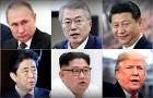 김정은, 한미중러 4국 '광폭외교'…북핵 해법 꼬이나