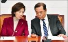 한국당 '투톱' 김병준-나경원, '인적쇄신' 놓고 벌써 충돌