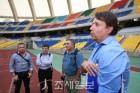 부산, 14년 만에 유치한 A매치 경기 장소 변경…'잔디 훼손 심각'