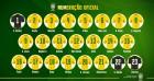 네이마르 10번-하피냐 11번…브라질 등번호 확정