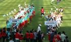 '우리는 하나' 3년 만에 열린 남북 노동자 축구대회