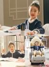 '황품' 오아린, 광고 촬영 현장 공개…아직도 '품격있는 공주' 느낌