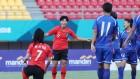 여자축구, 조별리그 1차전 승리…남자농구·여자핸드볼 2연승