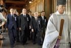 오늘(15) 광복절, 아베 총리느느 야스쿠니 신사에 공물료 납부