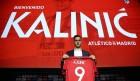 '월드컵 퇴출' 칼리니치, AT마드리드에서 오명 벗을까