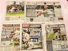 英 신문 1면, 다시 부는 잉글랜드 '축구 열풍'
